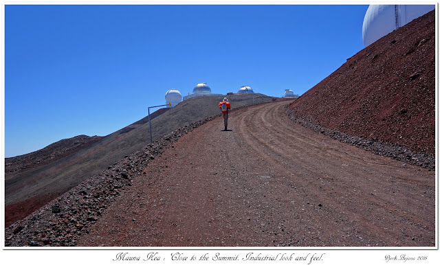 Mauna Kea: Close to the Summit. Industrial look and feel.
