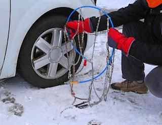 Cómo colocar las cadenas para nieve - Fénix Directo