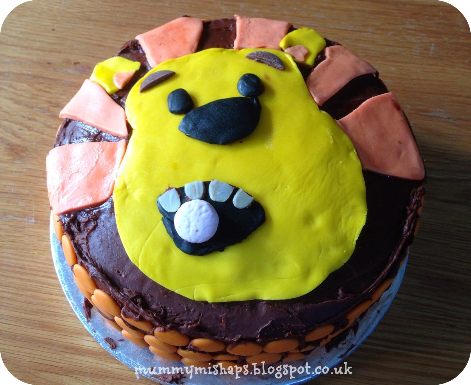 Raa Raa The Noisy Lion Birthday Cake And Party Food