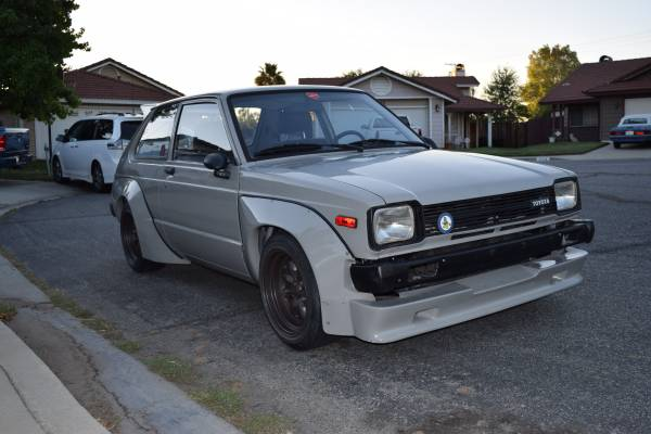 custom 1981 toyota starlet kp61 auto restorationice. Black Bedroom Furniture Sets. Home Design Ideas