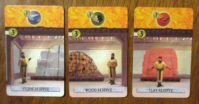 7 Wonders Duel: Yellow cards