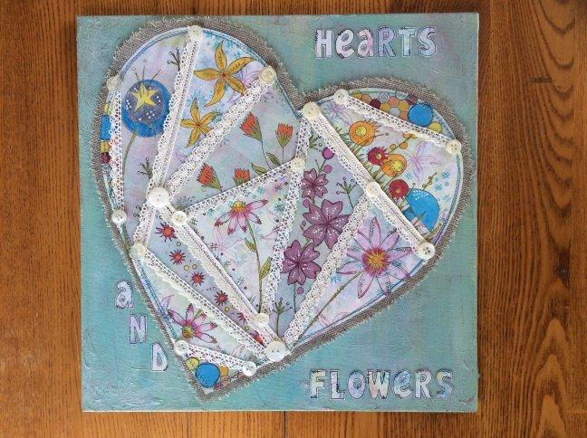 paperartsy 2016 2 crazy patchwork heart by karen daniell
