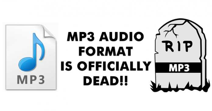 MP3 Audio Format Is Officially Dead