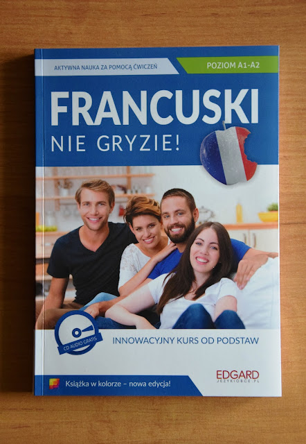 """Recenzje #19 - """"Francuski nie gryzie reedycja"""" + konkurs - okładka książki 2 pt.""""Francuski nie gryzie reedycja"""" - Francuski przy kawie"""