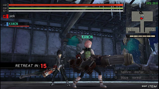 cw cheat god eater burst ppsspp
