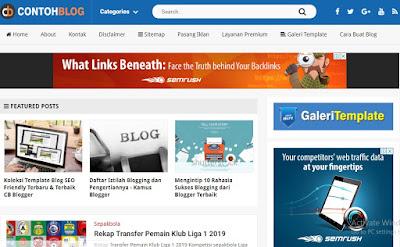 Situs Belajar Ngeblog contohblog