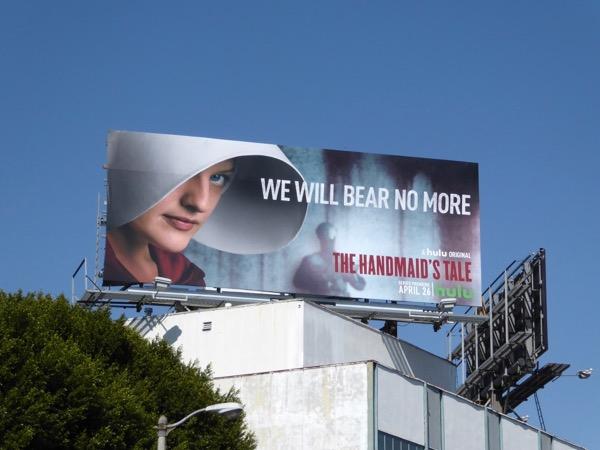 Handmaids Tale series premiere billboard