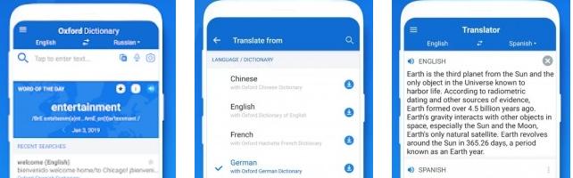 Oxford Dictionary with Translator v3 1 202 - Apkpure dz
