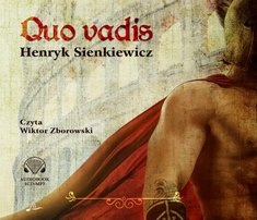 QUO VADIS Audiobook MP3 - okładka