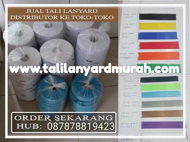 Pusat distributor tali lanyard harga termurah di Jakarta