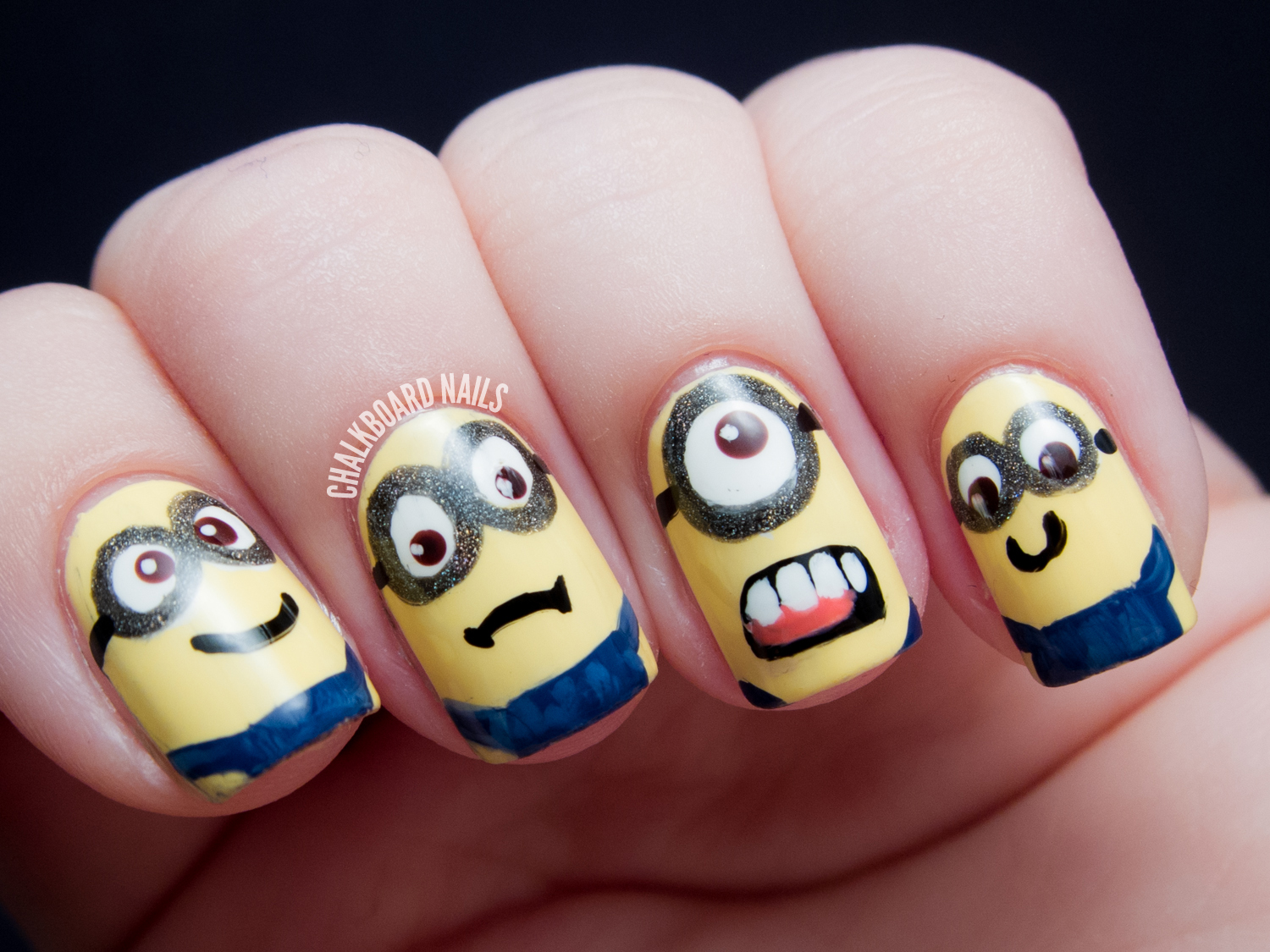 By DGB: How To: Minions Nail Art Tutorial