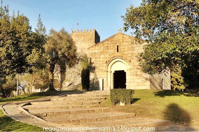 D. Afonso Henriques, capela românica da Igreja de São Miguel da Oliveira
