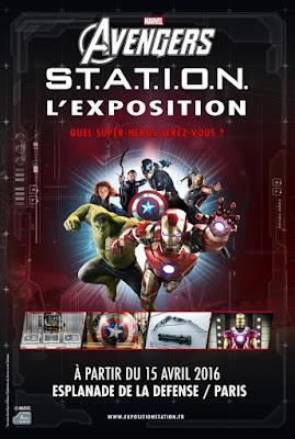 Exposition Marvel Avengers S.T.A.T.I.O.N. à Paris
