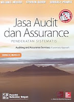 Judul Buku : Jasa Audit dan Assurance – Pendekatan Sistematis – Auditing and Assurance Services: A Systematic Approach Edisi 8 Buku 2 Pengarang : William F. Messier – Steven M. Glover – Douglas F. Prawitt Penerbit : Salemba Empat