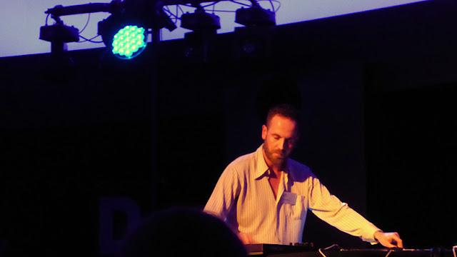 Ulrich Schnauss live @ Schallwelle Awards / photo Sylvain Mazars
