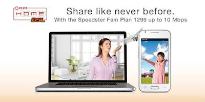 PLDT Home DSL: Share Like Never Before