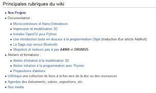 http://www.vorobotics.com/wiki/index.php?title=Accueil