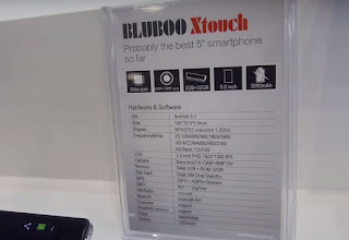 Bluboo Xwatch & Xtouch Hands on Photos In Hongkong Global Source Exhibition Firstly Unvealed With Main Specifications! price in nigeria