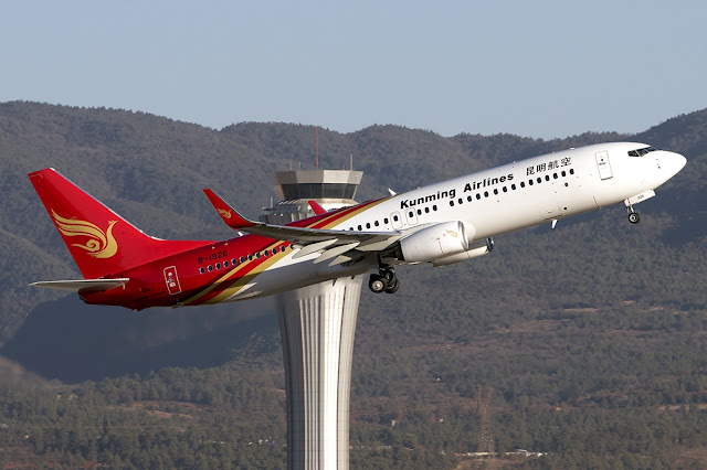 Kunming Airlines Boeing 737-800 Climbing Phase