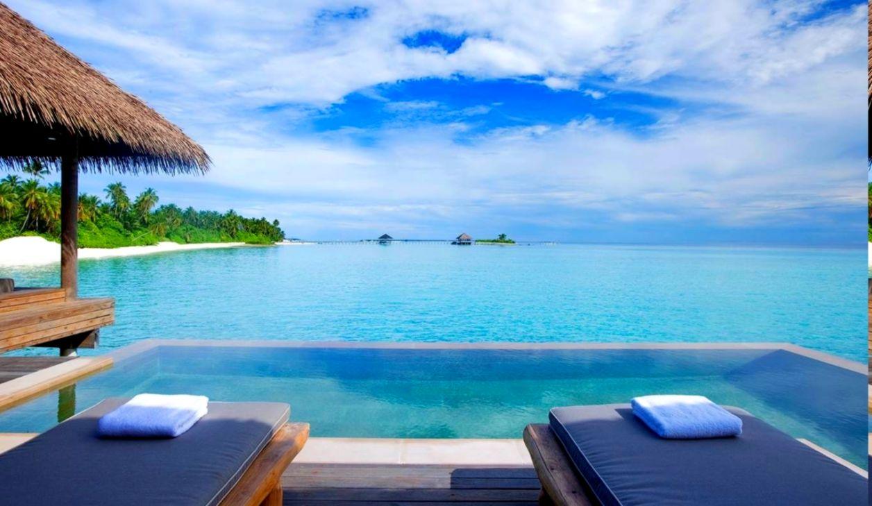 beautiful resort pool tropical beach wallpaper hd net wallpapers rh bnetwallpapers blogspot com