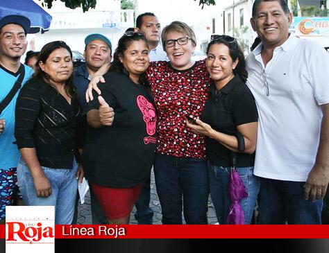LAURA BERISTAIN ESCUCHA LAS PROPUESTAS CIUDADANAS  DE LOS VECINOS DE LA COLONIA COLOSIO