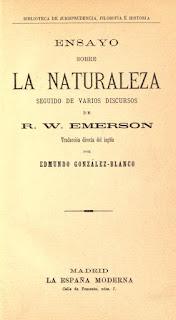 Libro de R. W. Emerson