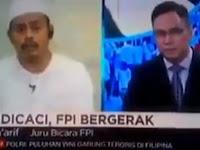 FPI: PERSEKUSI HANYA UNTUK ISLAM, Selain Islam DIbiarkan Bebas