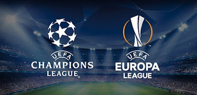 UEFA Champions League, Europa League, last 32, 16, draw, fixtures, schedule dates, possible line-ups, results.