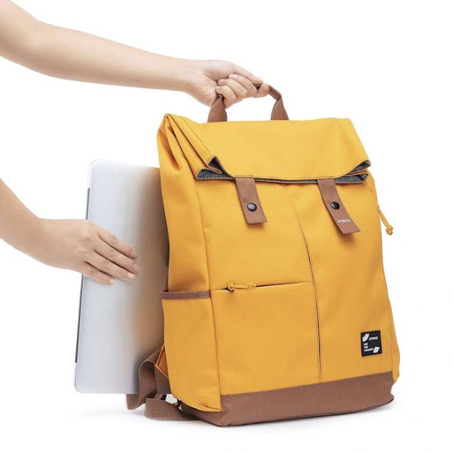 $29.99 / €25.75 for XIAOMI Urevo College SchoolLeisure Backpack 15.6-inch Laptop Bag 13L