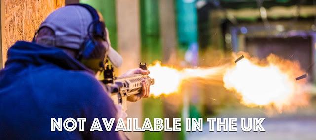 Shooting AK47s