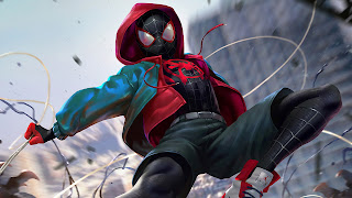 Spider-Man Into The Spider Verse HD Wallpaper