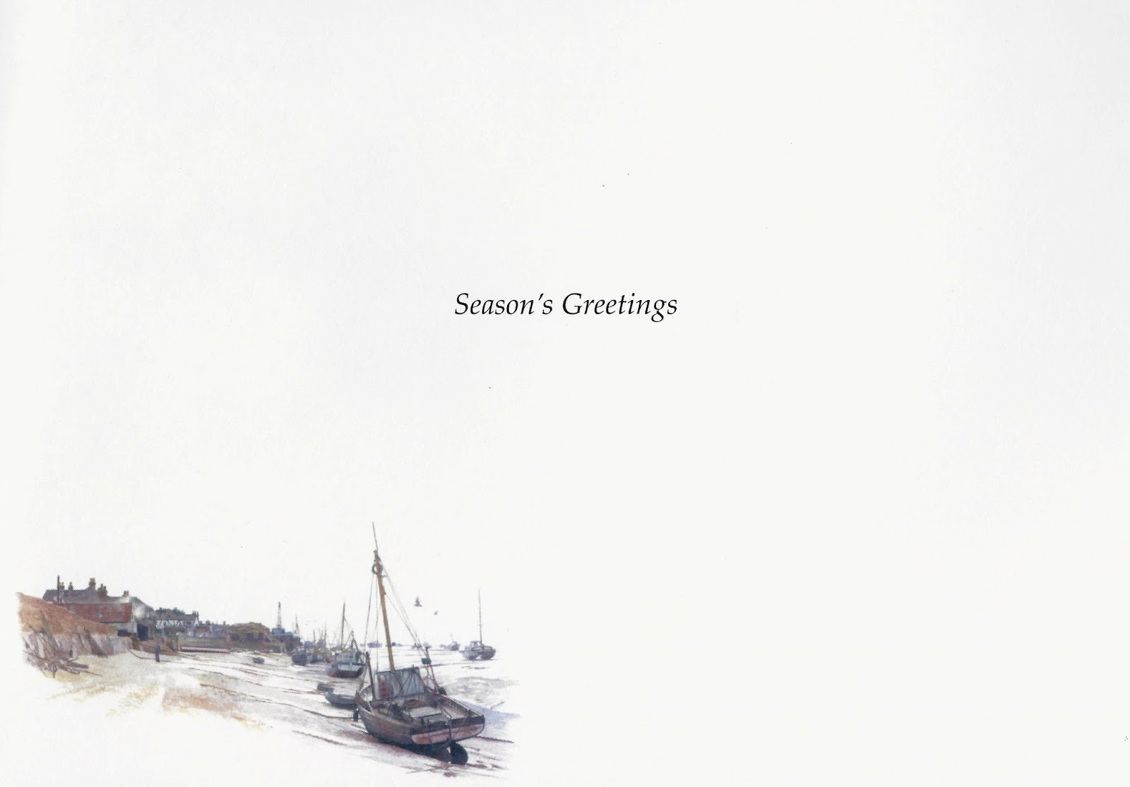 Endeavour Trust: 2017 Christmas Card featuring Still from Dunkirk