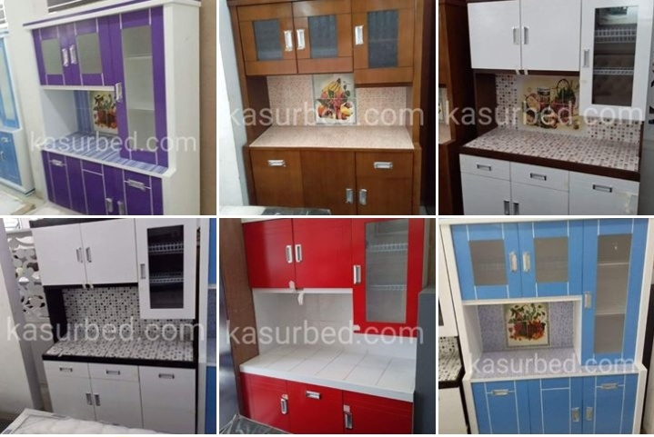 Rak Piring Dapur Kitchen Set Bawah Finishing Duco