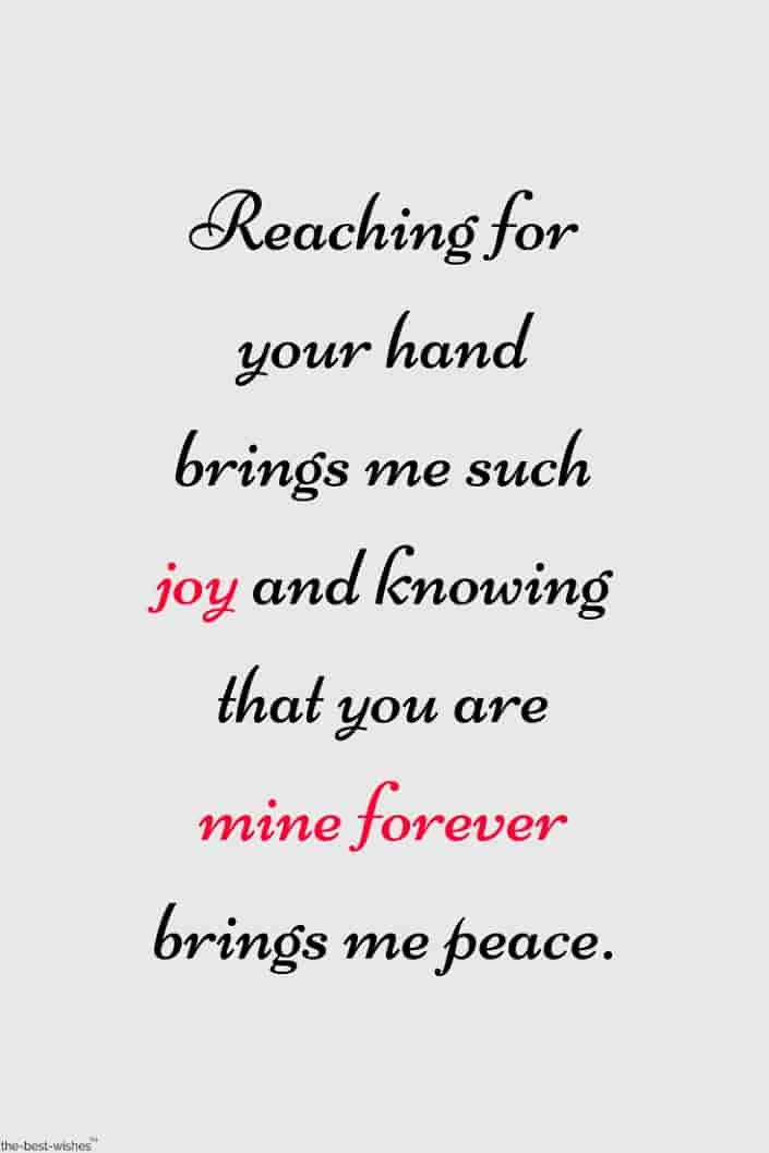 mine forever quote for sweetheart
