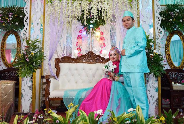 Pernikahan Kang Ruswan dengan Teh Syifa