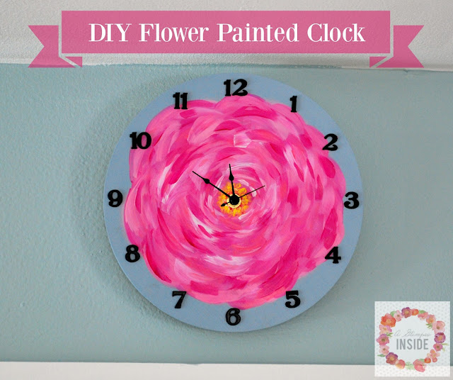 http://www.aglimpseinsideblog.com/2016/08/diy-flower-painted-clock.html