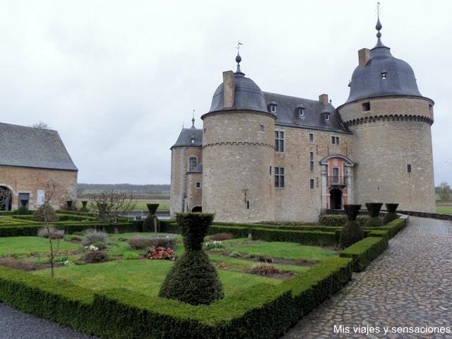 Castillo de Lavaux-Saint-Anne, Valonia, Bélgica