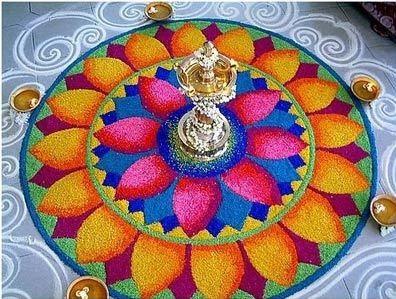 New Rangoli Design Diwali