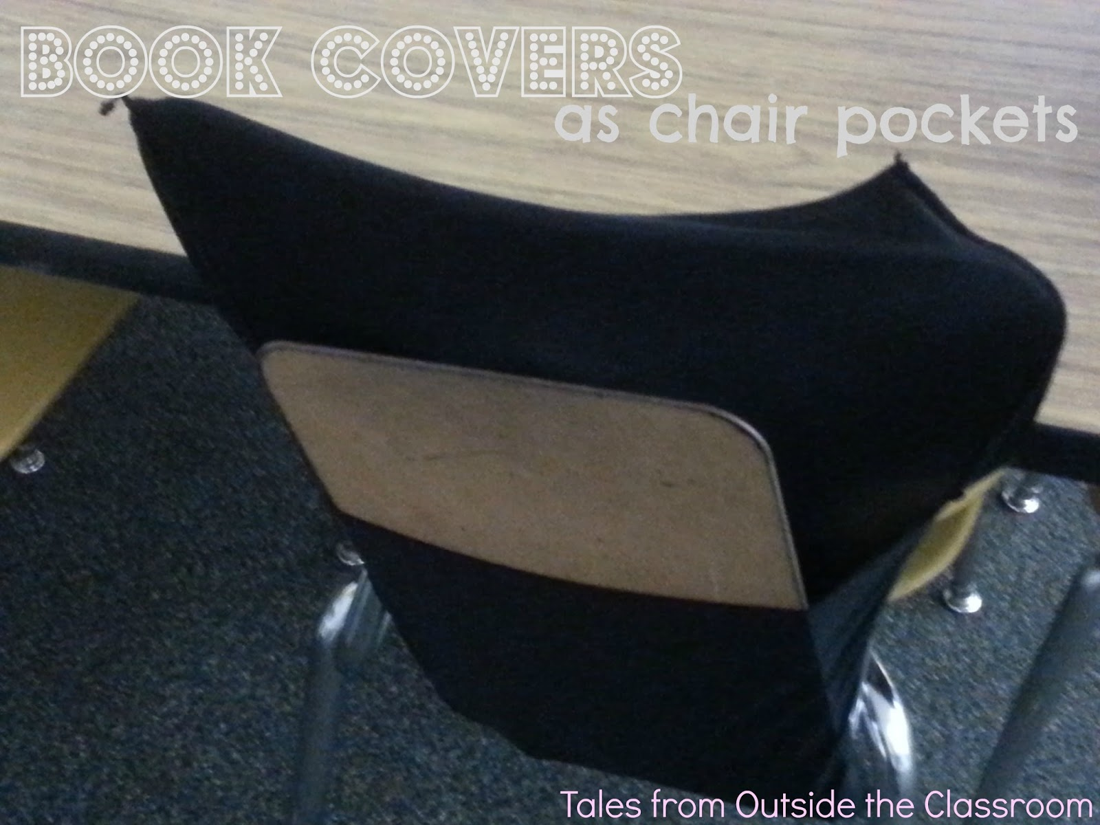Chair Covers For Classroom Ikea Adirondack Chairs Book As Pockets My Take On The Pinterest
