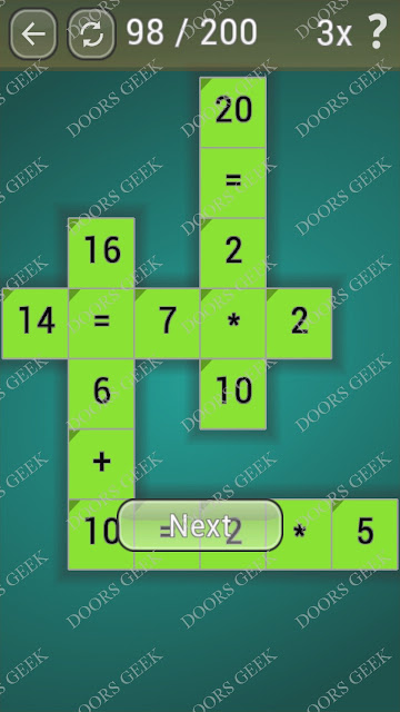 Math Games [Beginner] Level 98 answers, cheats, solution, walkthrough for android