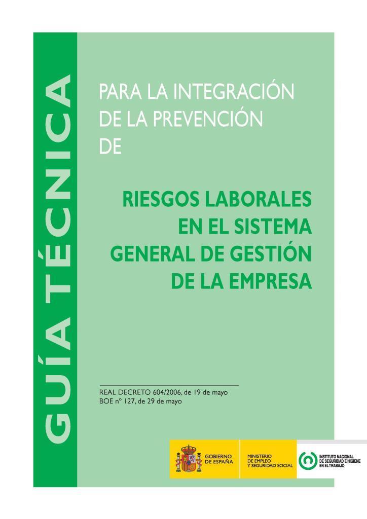 Riesgos laborales en el sistema general de gestión de la empresa