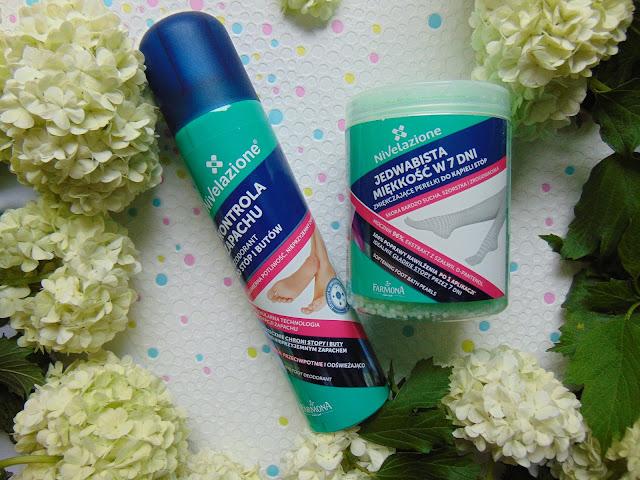 Nivelazione - Kosmetyki do pielęgnacji stóp - Dezodorant i perełki do kąpieli stóp