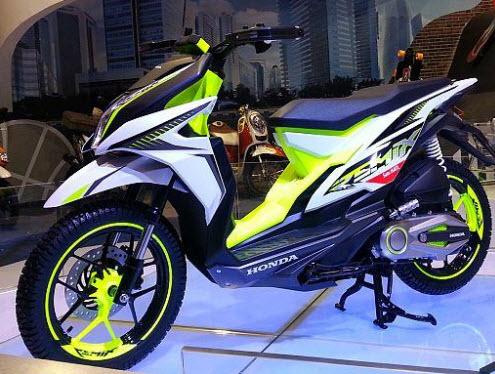 Gaya Modifikasi Motor Honda Beat Terbaru