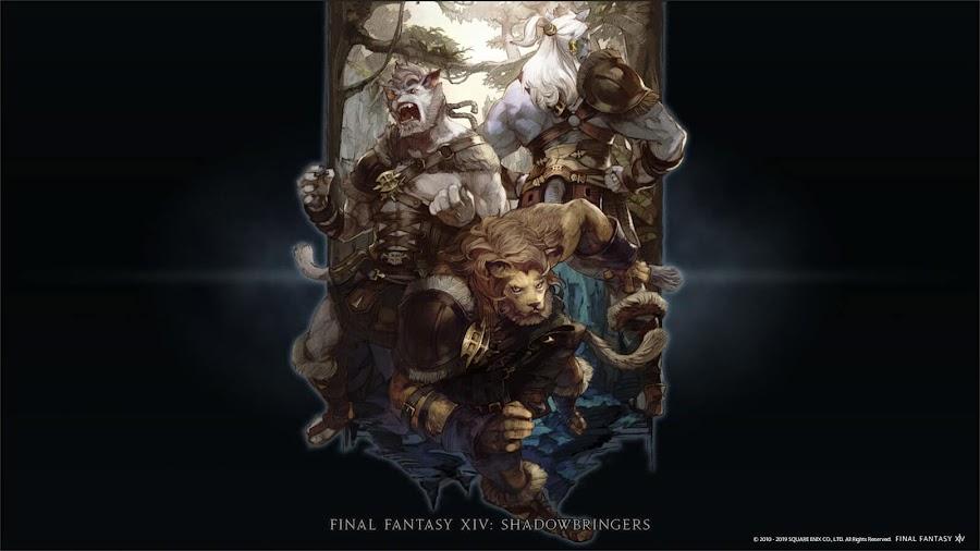 final fantasy 14 shadowbringers hrothgar playable race
