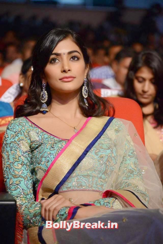 Pooja Hegde Latest Photo Gallery, hot Pics of Pooja Hegde from Mukunda Movie Audi Launch