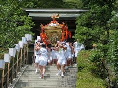 荏柄天神社例大祭