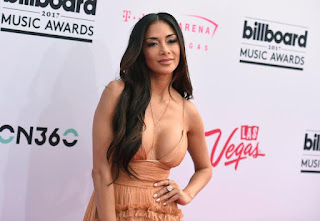 Grigor Dimitrov Girlfriend Nicole Scherzinger Posing At Music Awards