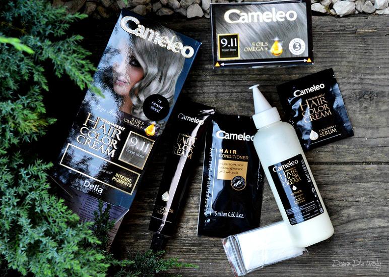 Farba do włosów Cameleo OMEGA+ Frozen Blond 9.11 Delia