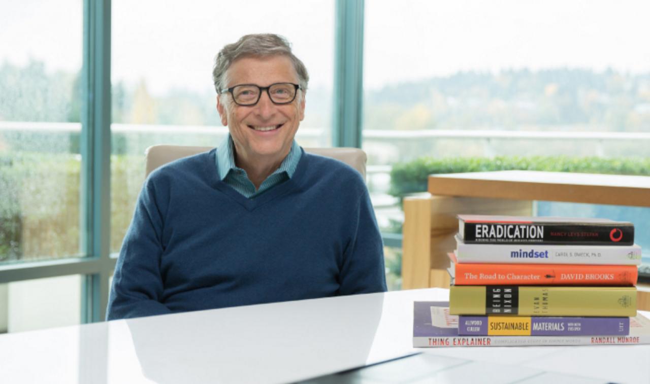 比爾·蓋茲公布私房書單!今年他讀過最好的書是這6本