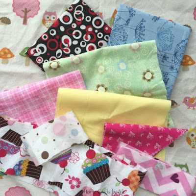 crafty creative bucket list 2016 10 projects fabric material scrap quilt daughter